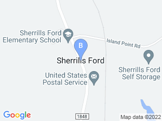 Map of 4 Paws Home Pet Services Dog Boarding options in Sherrills Ford | Boarding