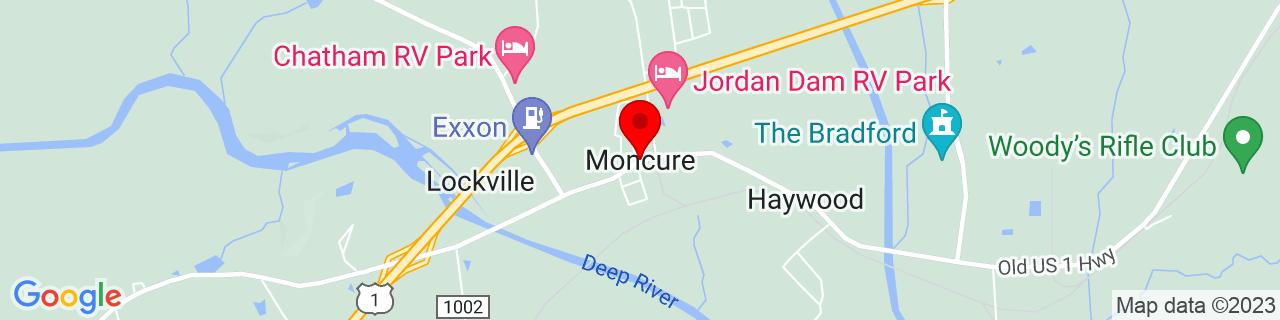 Google Map of 35.6226831, -79.0783474