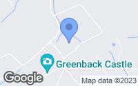 Map of Greenback, TN