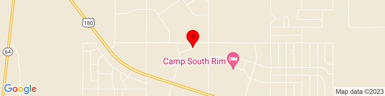 Google Map of 35.6273155, -112.0901756