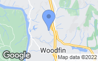 Map of Woodfin, NC