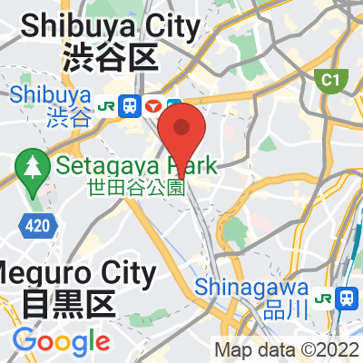Map showing Sarutahiko Coffee Atre Ebisu Westside Store
