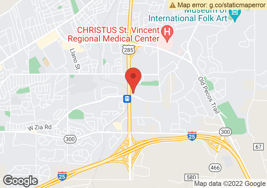Google Map of 525 W ZIA RD