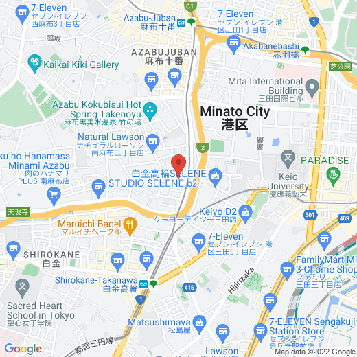 Google Map of Japan Campus Library System