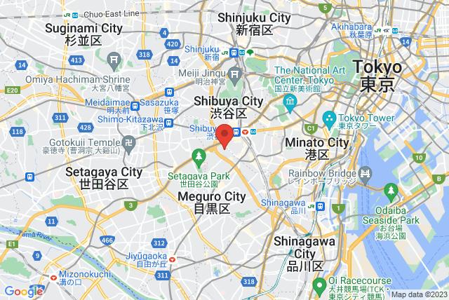 BASI Pilates Japan Map