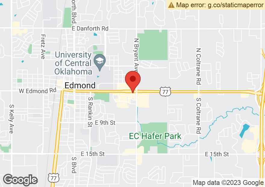 Google Map of 1400 E 2ND ST