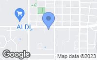 Map of Edmond, OK