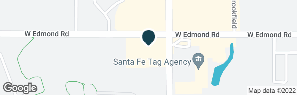 Google Map of301 S SANTA FE AVE