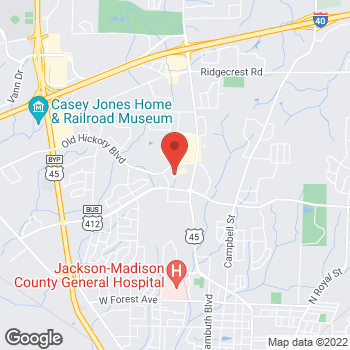 Map of Citi Trends at 50-13 Old Hickory Blvd, Jackson, TN 38305