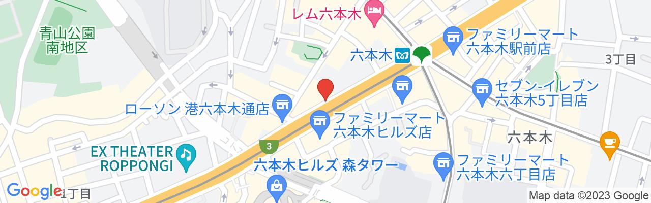地下鉄日比谷線 六本木駅 2番出口