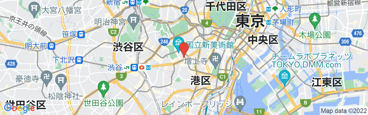 東京都港区六本木7-17-12 六本木ビジネスアパートメンツ1F