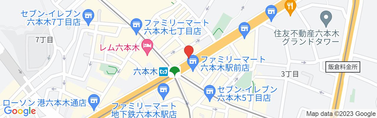 都営大江戸線 六本木駅6番出口