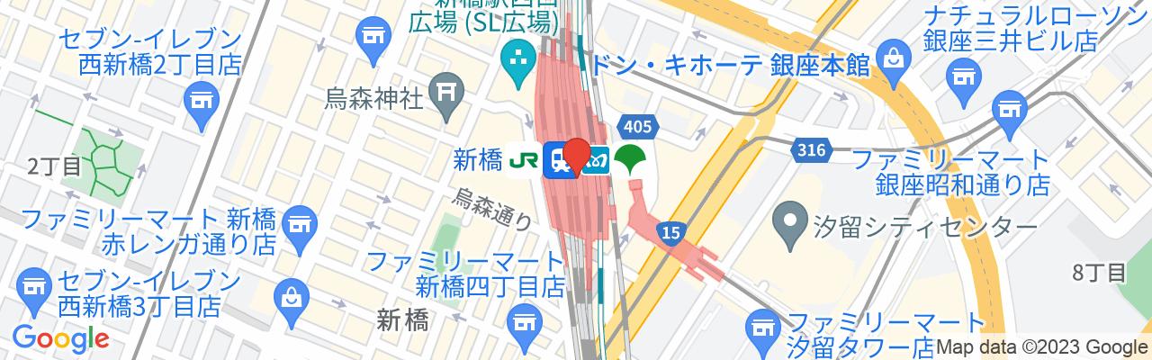 JR新橋駅 烏森口出口