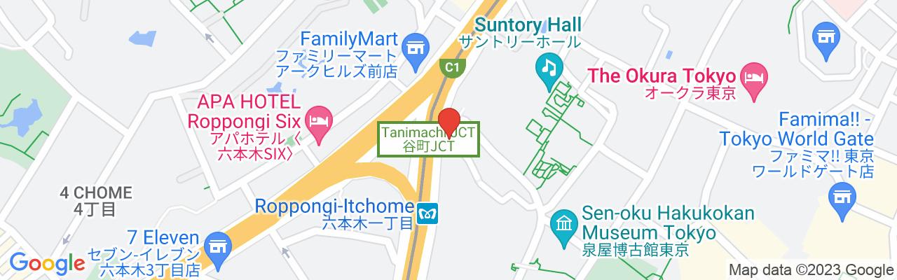 Tokyo Metro Nanboku Station Roppongi Icchome Station Exit 3
