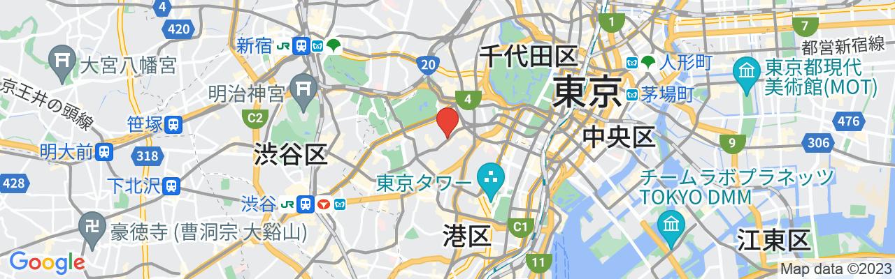 東京都港区赤坂5-4-17 前田ビル1・2F