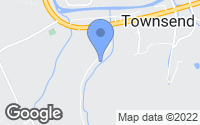 Map of Townsend, TN