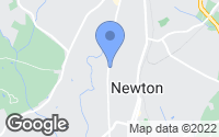 Map of Newton, NC