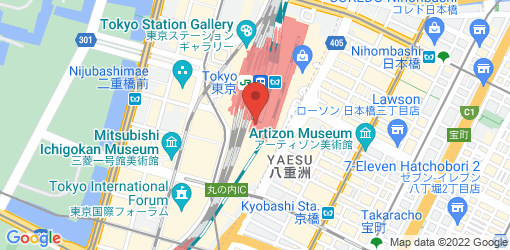 Directions to T's TanTan (Tokyo Station Keiyo Street)