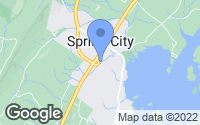 Map of Spring City, TN