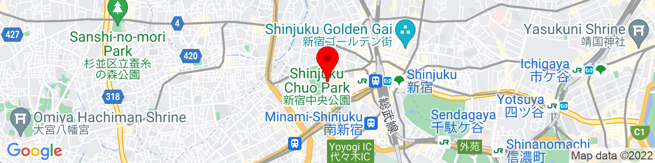 Google Map of 35.68944444444444, 139.69166666666666