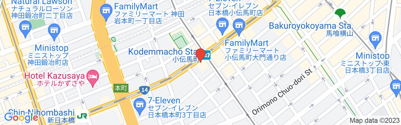 Tokyo Metro Hibiya Line Kodenmacho Station Exit 3