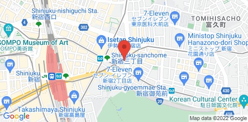 Directions to Ain Soph. Journey Shinjuku