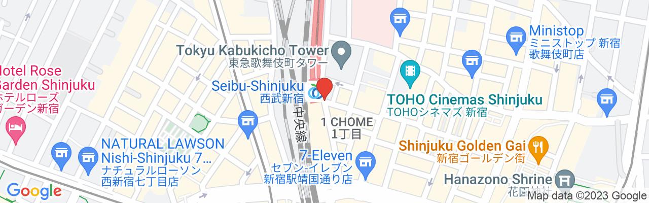 Seibu Shinjuku Line Seibu-Shinjuku Station South Exit