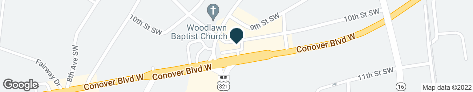 Google Map of456 CONOVER BLVD W