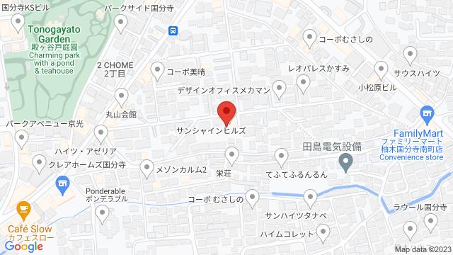 イングリッシュガーデンローズカフェ  東京都国分寺市南町2-3-23
