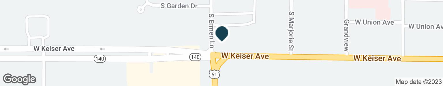 Google Map of850 W KEISER AVE