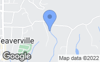 Map of Weaverville, NC