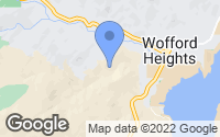 Map of Wofford Heights, CA