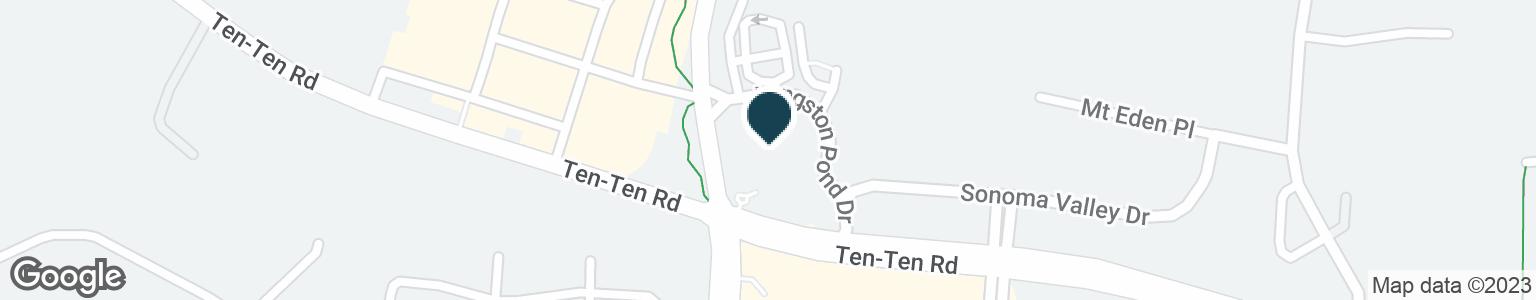 Google Map of3441 KILDAIRE FARM RD