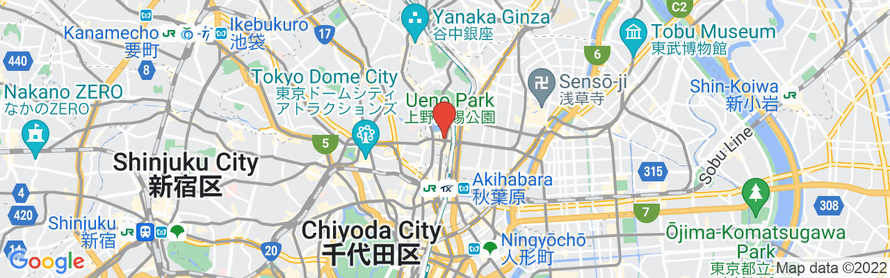 2 Chome-1-9 Ueno, Taito-ku, Tokyo, GAOH Kuromon Building 3F