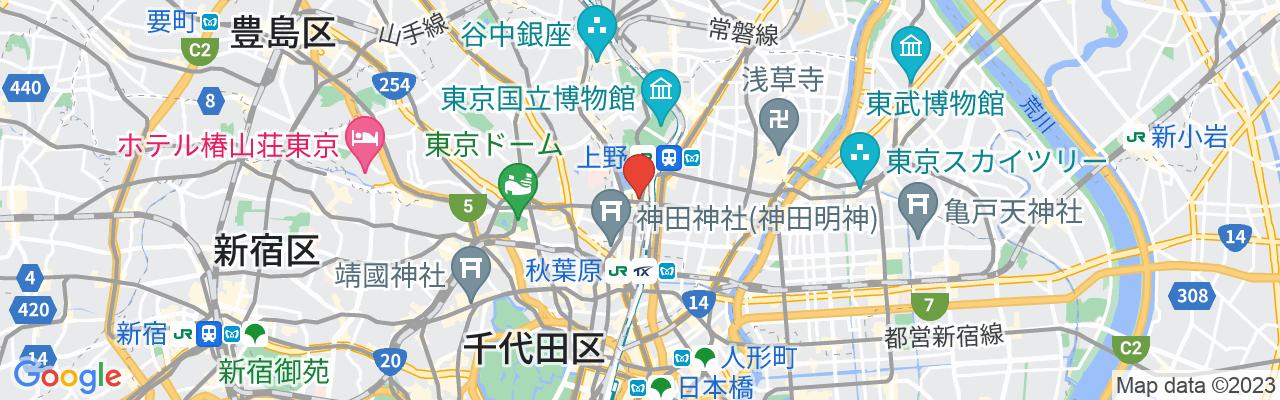 東京都台東区上野2-1-9 GAOH黒門ビル3F