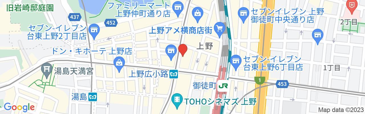 東京メトロ銀座線上野広小路駅、都営大江戸線上野御徒町駅 A5出口