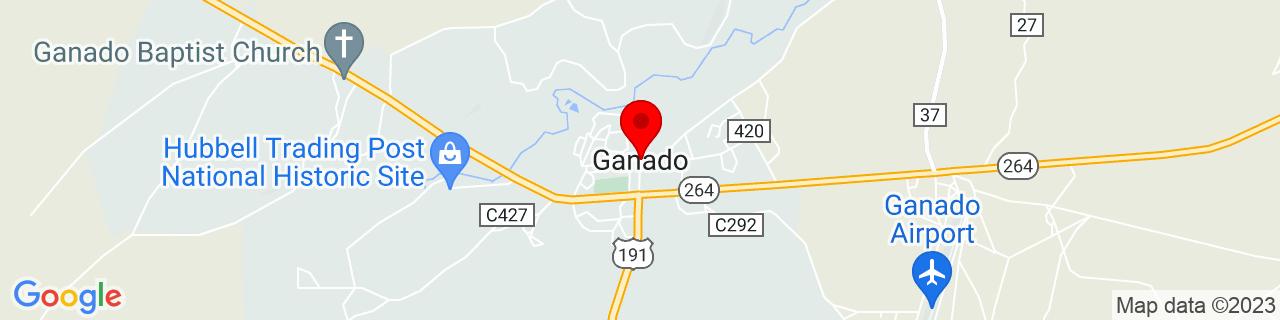 Google Map of 35.71140219999999, -109.5420492