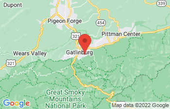 Map of Gatlinburg