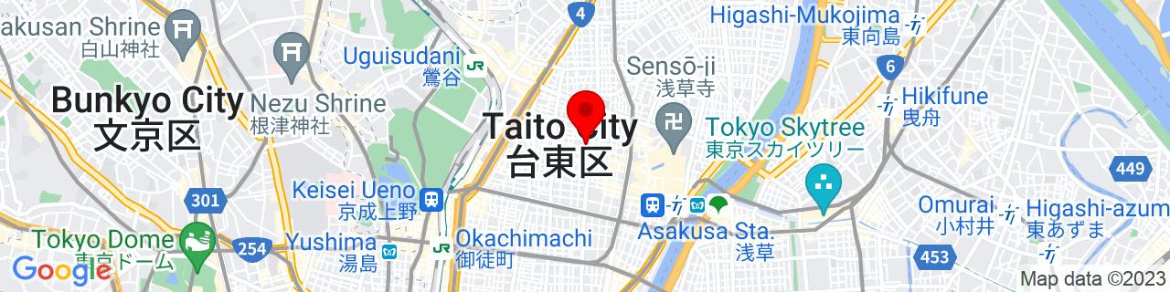 Google Map of 35.71534166666667, 139.78838611111112
