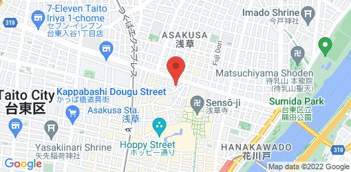 Directions to Vegan Cafe Monkey Magic 浅草