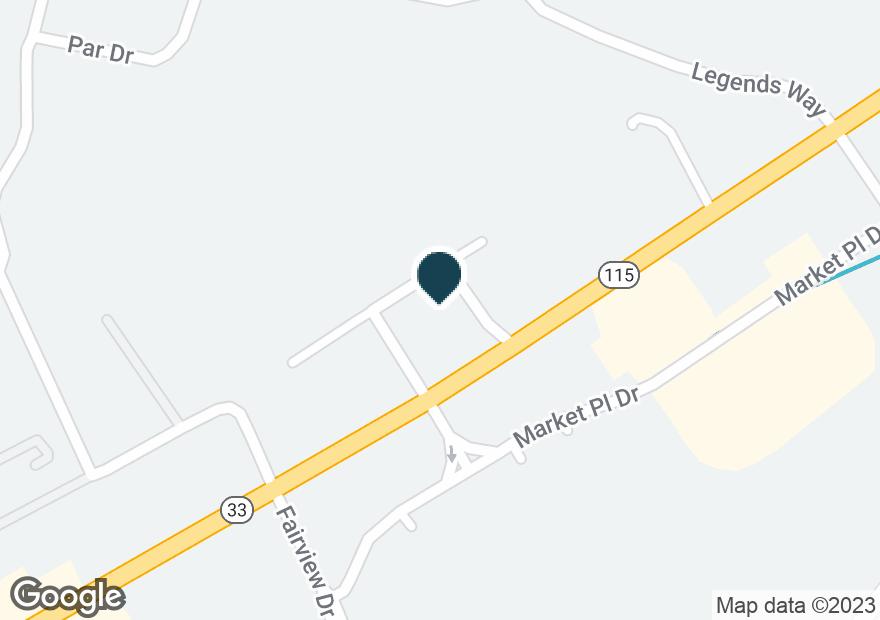Google Map of2409 US HIGHWAY 411 S