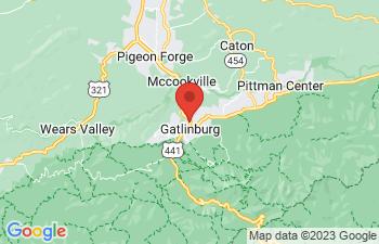 Map of Gatlinburg