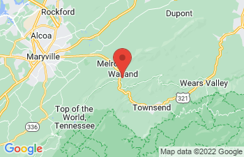 Map of Walland