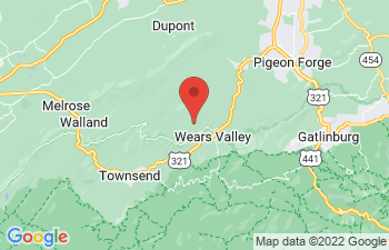 Map of Wears Valley