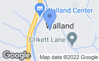 Map of Walland, TN