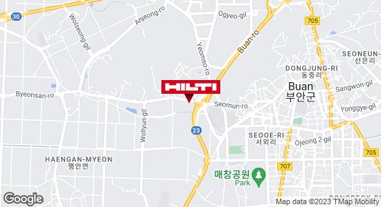 Get directions to 전북부안행안신기17.