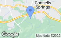 Map of Connelly Springs, NC