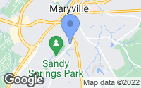 Map of Maryville, TN