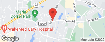 Map of 6244 Tryon Rd in Cary