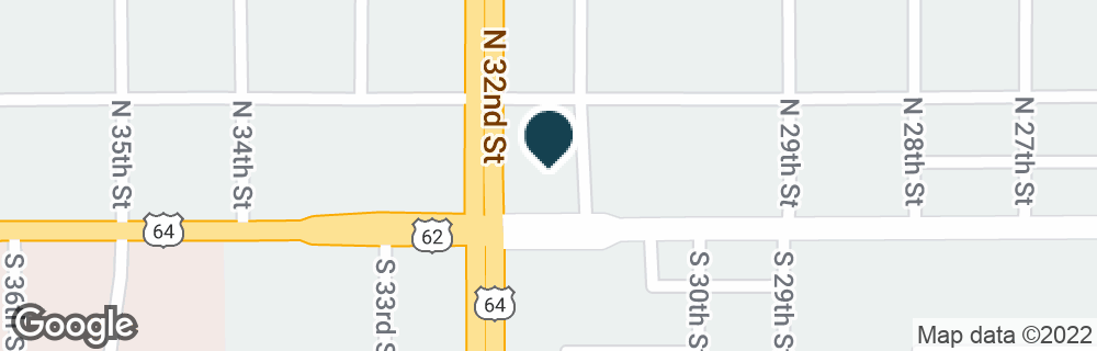 Google Map of100 N 32ND ST
